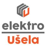 Elektro Ušela – logo společnosti