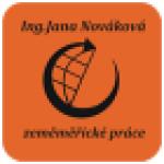 Zeměměřické práce - Ing. Jana Nováková – logo společnosti