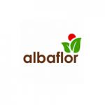 Albaflor - jahodárna Čelákovice, Sedlčánky – logo společnosti