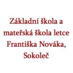 Základní škola a mateřská škola letce Františka Nováka, Sokoleč – logo společnosti