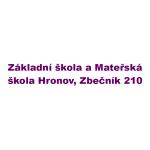 Základní škola a Mateřská škola Hronov, okres Náchod (odloučené pracoviště ZŠ Zbečník) – logo společnosti