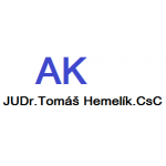JUDr. Tomáš Hemelík CSc. – logo společnosti