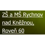 Základní škola a mateřská škola Rychnov nad Kněžnou, Roveň 60 – logo společnosti