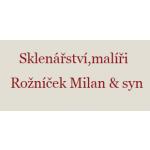 SKLENÁŘSTVÍ - ROŽNÍČEK – logo společnosti