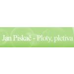 Piskač Jan - ploty, pletiva – logo společnosti