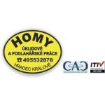 Horák Josef - HOMY - pomocné a úklidové práce – logo společnosti