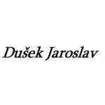 Dušek Jaroslav - vrata, mříže – logo společnosti