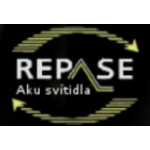 Šindelář Rudolf- REPASE Aku svítidla – logo společnosti