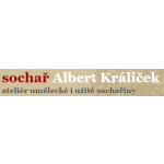 Králiček Albert - ateliér umělecké i užité sochařiny – logo společnosti