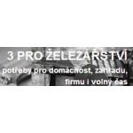 Procházka Jiří, Ing. - 3 PRO ŽELEZÁŘSTVÍ – logo společnosti