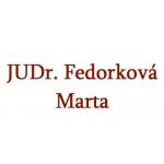 JUDr. Fedorková Marta – logo společnosti