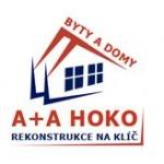 A+A HOKO - rekonstrukce podlah – logo společnosti