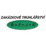 Zakázkové truhlářství B + F + J + K – logo společnosti