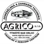 AGRICO, s.r.o. - zemědělská a zahradní technika – logo společnosti