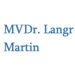 MVDr. Langr Martin – logo společnosti
