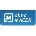 Okna Macek a.s. (pobočka Benešov) – logo společnosti