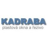 KADRABA-PLASTOVÁ OKNA A ŘEZIVO – logo společnosti