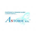 ASTORIE a.s. (pobočka Roztoky) – logo společnosti