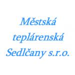 Městská teplárenská Sedlčany s.r.o. – logo společnosti