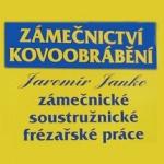 JANKO JAROMÍR - KOVOOBRÁBĚNÍ – logo společnosti