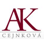 AK - JUDr. Hana Cejnková – logo společnosti