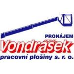 VONDRÁŠEK pracovní plošiny s.r.o. – logo společnosti